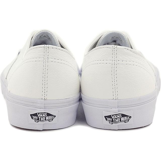 货车货车运动鞋男装女装经典正宗反褶积的经典正宗执事 (高级皮革鞋) 真实白色 (VN 018CEWB FW15)