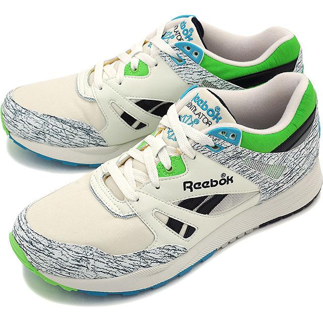 Reebok Reebok sneakers VINTAGE VENTILATOR ventilator vintage CHALKSNOWY GREYSUSHI GREENFLIGHT BLUEBLACK (V61923 FW15)