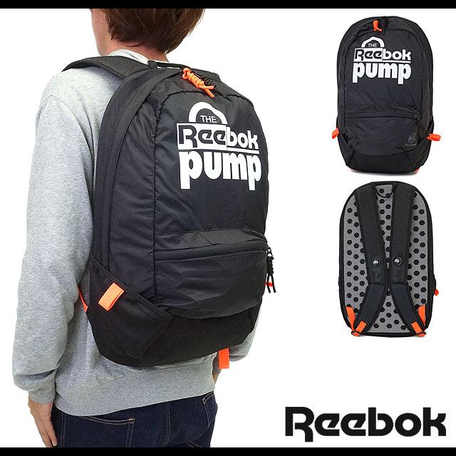reebok backpack. reebok bag cl pump small backpack classic pump backpack rucksack black (ab3876 fw15)