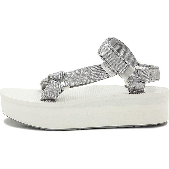 Teva Teva Womens Sandals WMN Flatform Universal flat form universal SILVER (1008844-SLVR FW15)