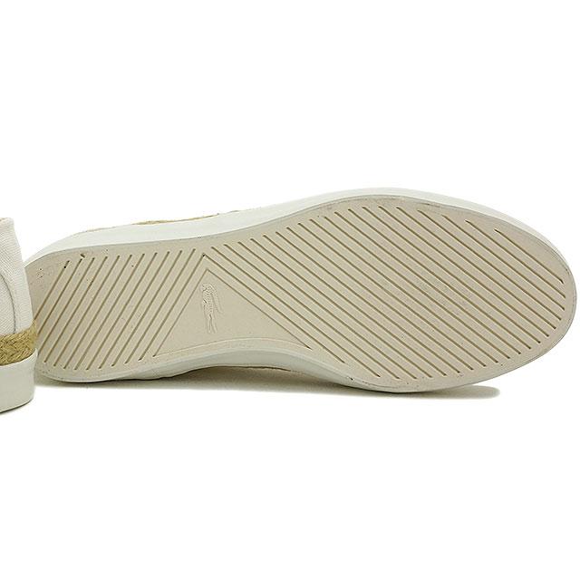 3f3eca9a868 LACOSTE Lacoste Lady s sneakers espadrille GLENDON ESPA 3 グレンドンエスパ 3 WT  (WSB424-QM4 FW14)