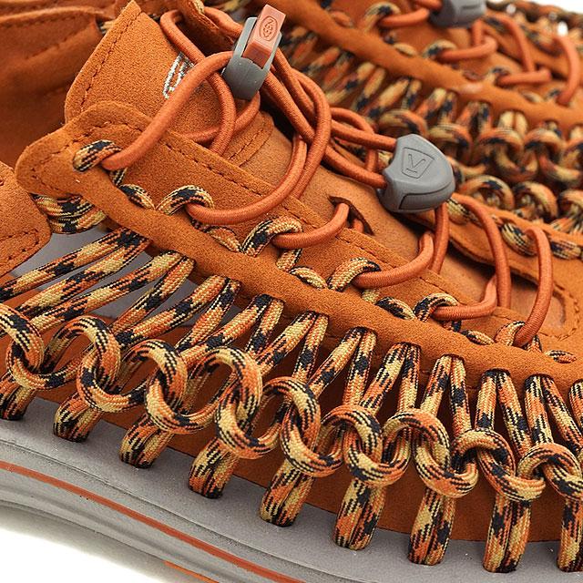 KEEN keen mens Sandals shoes water UNEEK MNS unique men's Gingerbread/Bronze Mist (1013239 FW15)