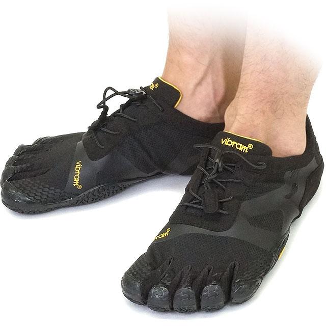 Vibram FiveFingers ビブラムファイブフィンガーズ メンズ KSO EVO Black ビブラム ファイブフィンガーズ 5本指シューズ ベアフット靴 (14M0701)【コンビニ受取対応商品】