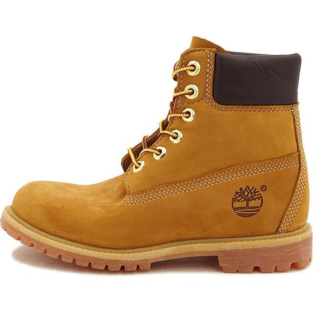 Timberland Timberland Womens boots 6 inch Premium Boot 6 inch premium boots Wheat Nubuck (10361