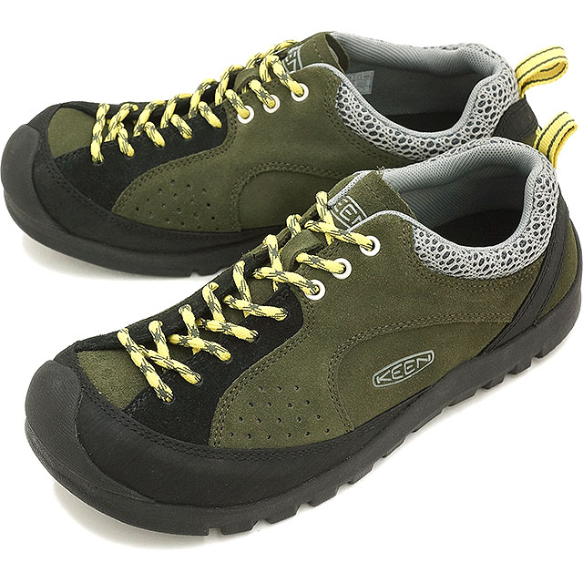 0d0b61f3f605 Kean jasper locks trekking shoes KEEN Jasper Rocks MNS Forest Night Warm  Olive 1013300 FW15