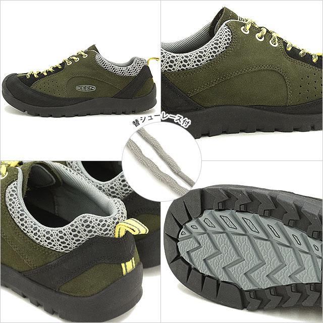 基恩碧玉岩徒步鞋热衷于碧玉岩 MNS 森林夜/温暖橄榄 1013300 FW15