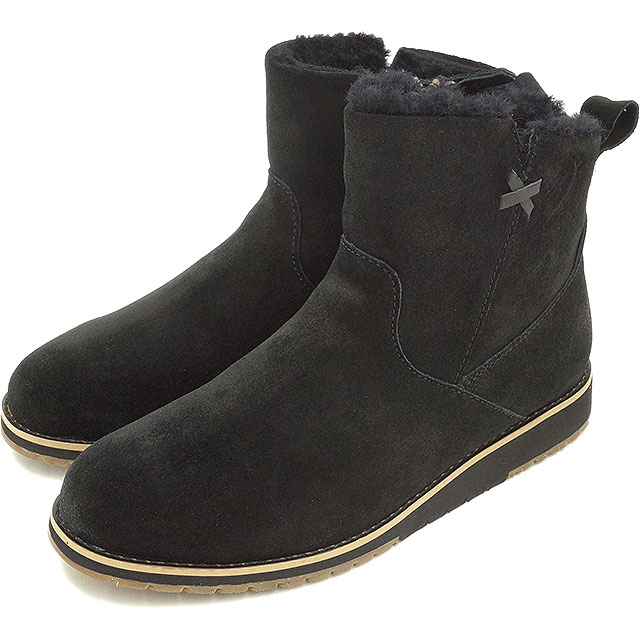 56941d265b3 emu emu mouton boots BEACH MINI beach mini-(wax suede cloth / merino wool  ...