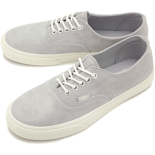 cba1c9e67de VANS vans sneakers mens Womens CLASSICS AUTHENTIC DECON classics authentic  Deacon (SCOTCHGARD) GREY (VN-018CGZW FW15)