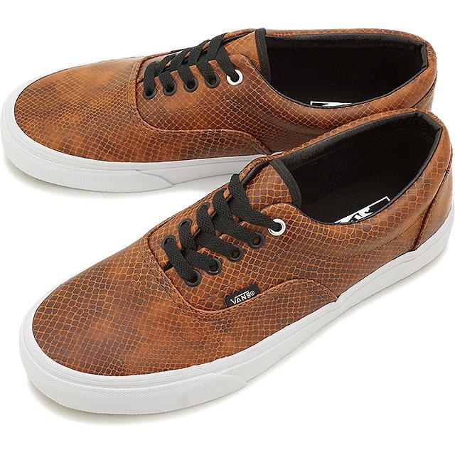 6503e2d03e VANS vans sneakers men gap Dis CLASSICS ERA classical music gills (SNAKE)  BLACK BROWN (VN-018FH0D FW15)