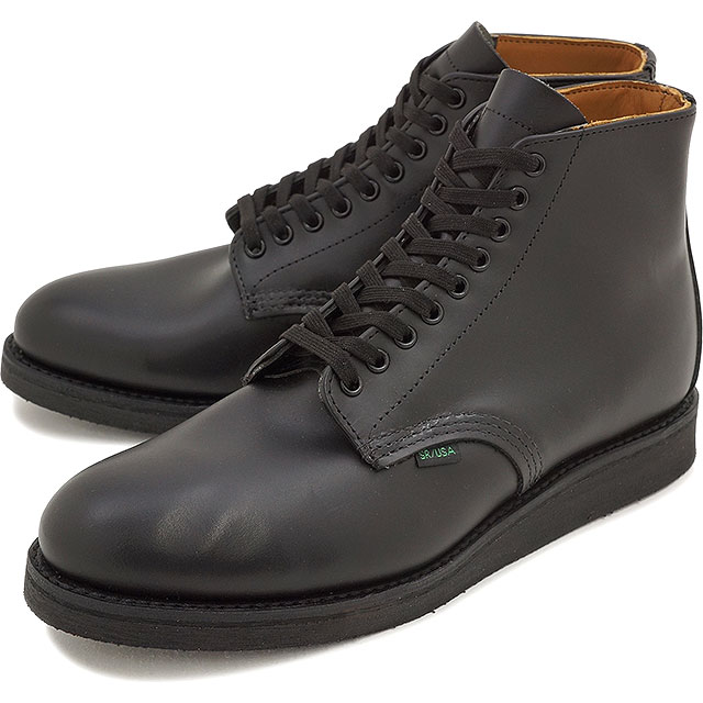 【返品サイズ交換可】レッドウィング ポストマン ブーツ シャパラル REDWING 9197 Postman Boot Chaparral Black 靴【コンビニ受取対応商品】