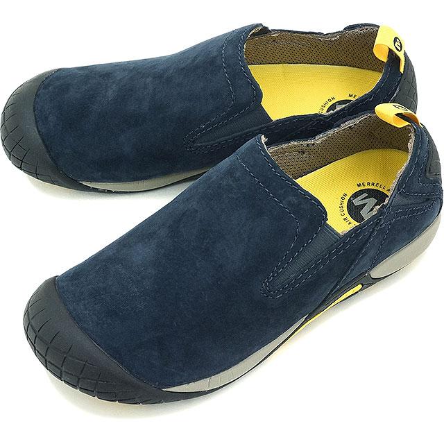 【日本別注】メレル パスウェイ モック メンズ MERRELL PATHWAY MOC MNS NAVY 靴 [J575519 FW15]