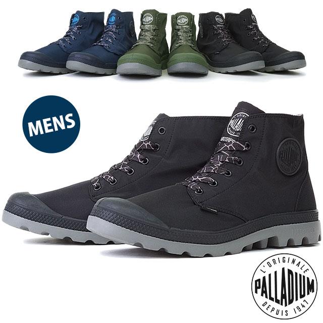 パラディウム 靴 PALLADIUM スニーカー メンズ Puddle Lite WP パドル ライト ウォータープルーフ (03085)【コンビニ受取対応商品】