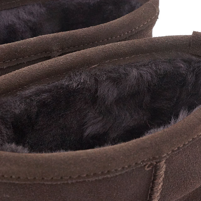 a38318ee674 EMU EMU Sheepskin boots MINI PATERSON Paterson mini (waterproof  Swede/Sheepskin) short boots CHOCOLATE (W10946 FW15)
