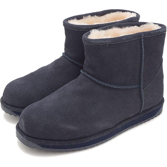 d37e57025d5 EMU EMU Sheepskin boots MINI PATERSON Paterson mini waterproof  Swede/Sheepskin INDIGO ( W10946 FW14 ...