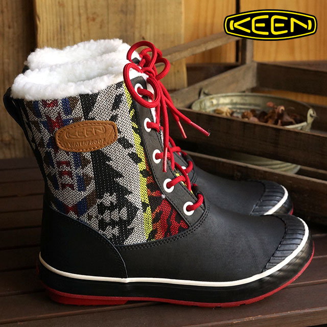 f35e1d8e665 KEEN Kean Lady's winter boots snow boot Elsa Boot WP WMN Elsa boots  waterproof women Chili Pepper Kean (1013727 FW15)