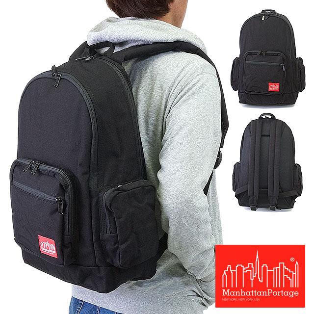 マンハッタンポーテージ Manhattan Portage バッグ バックパック リュック BDWY Backpack BLACK(MP1273)【コンビニ受取対応商品】