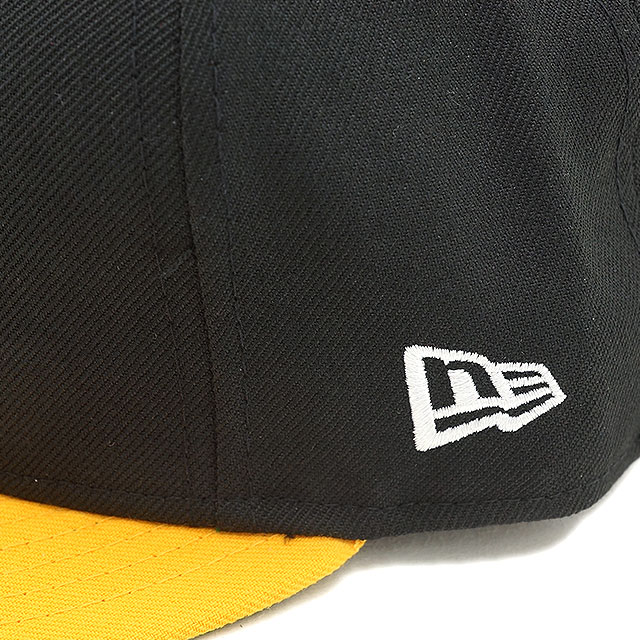 NEWERA新埃拉NEWERA套NPB CLASSIC 59FIFTY日本職業棒球クラシックフィフティーナインフィフティー阪神老虎黑色/A黄金/隊色(N0001062 SC)(NEW ERA)