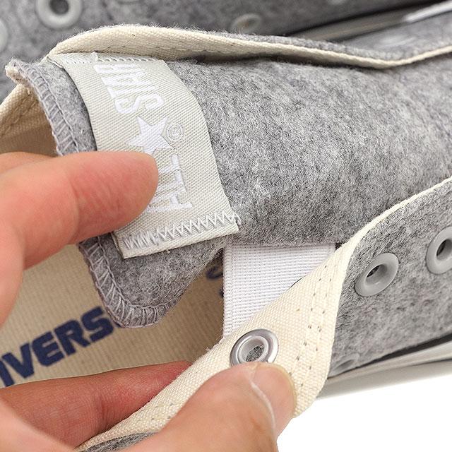 CONVERSE Converse sneakers ALL STAR FELT SLIP OX all-star felt slip OX grey (32761167 HO15)