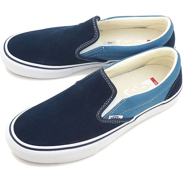 e10f83cafb5 VANS vans sneakers shoes men gap Dis slip-ons SLIP-ON PRO slip-on pro  (TWO-TONE) NAVY STV NAVY (VN-097MI4O FW15)