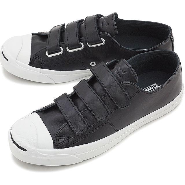 1703cec53009 Converse Jack Pursel Velcro leather men gap Dis shoes CONVERSE JACK PURCELL  V-3 LEATHER black 32242671 SS16