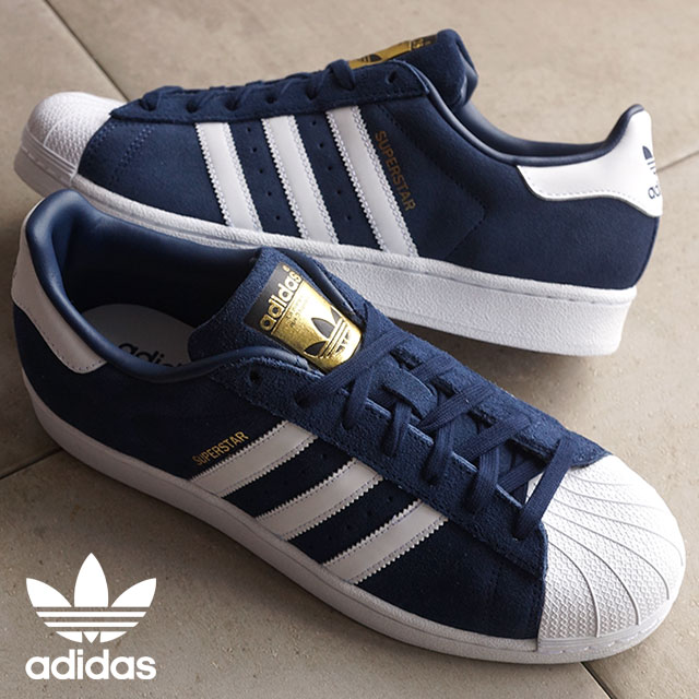 Adidas Superstar Donne Bianco E Blu ZGreMjk