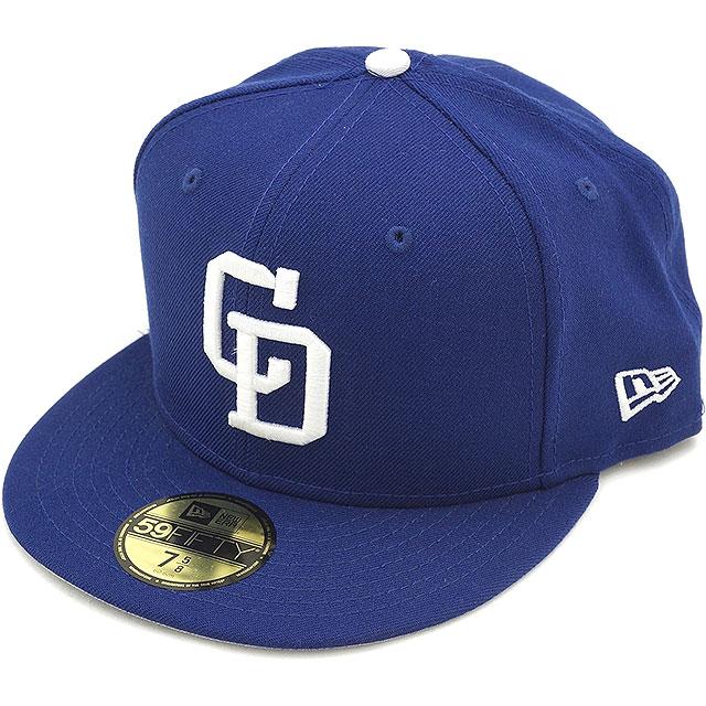 新时代新时代帽 NPB 经典 59FIFTY 日本职业棒球经典 fiftinainfif 三通高飞黑暗皇家/白色 (11121946)。