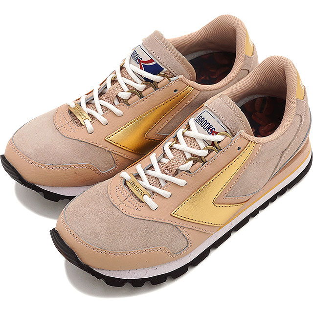 5c9ddd98f3b BROOKS Brooks sneakers shoes Lady s women WMNS HERITAGE CHARIOT heritage  chariot Coffeehouse Macchiato (1201711B-269 HO15)