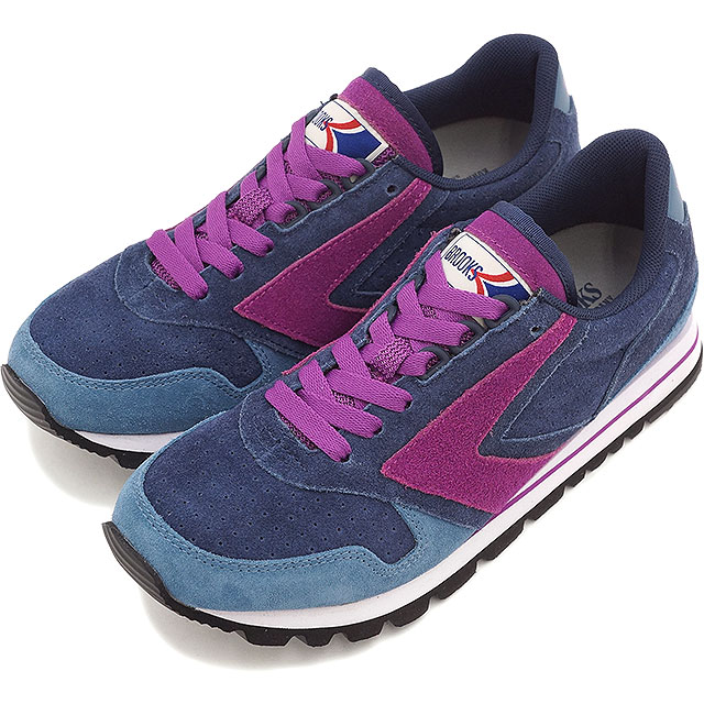 bc5708d17cd BROOKS Brooks Sneakers Shoes women women s CHARIOT WMNS HERITAGE heritage  chariot Peacoat Navy Storm Boysenberry (1201711B-483 HO15)