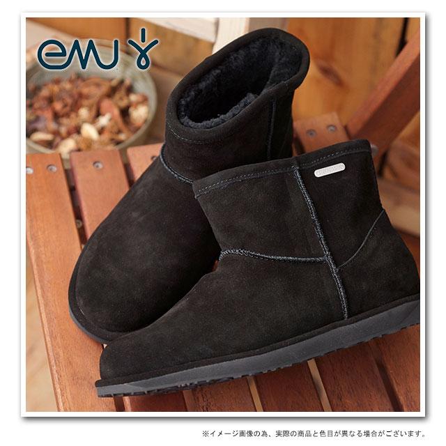 da5fb0a2f38 ... EMU EMU Sheepskin boots MINI PATERSON Paterson mini (waterproof  Swede/Sheepskin) short boots ...