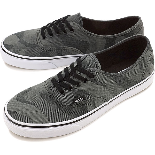 vans authentic camo