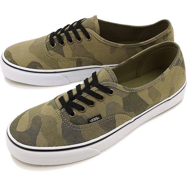9788fa97b6 Vans authentic VANS men s women s sneaker CLASSIC AUTHENTIC (CAMO JACQUARD)  RAVEN TRUE WHITE (VN0004MLJOM FW16)