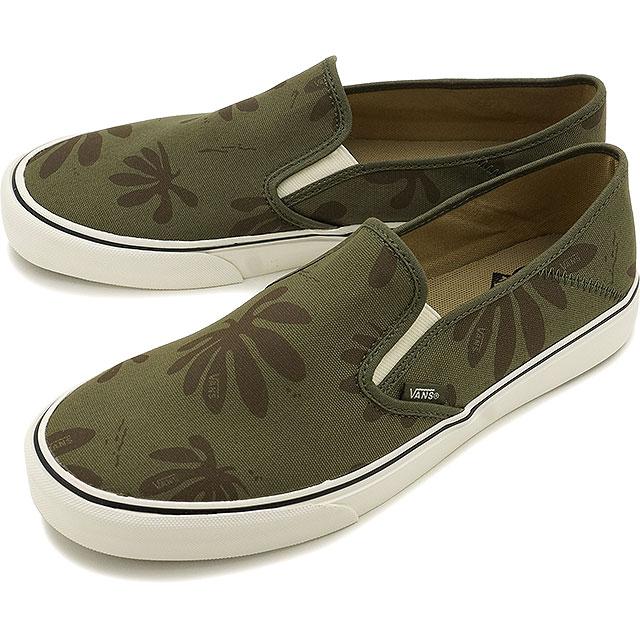 d79d37f180 Vans slip-on VANS SF mens sneakers slip-on women s SURF SLIP-ON SF (JOEL  TUDOR) GREEN KELP LEAF (VN00019MK9H FW16)