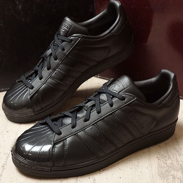 Adidas originals superstar glossy toe women adidas Originals SUPERSTAR GLOSSY TOE W core black core black running white shoes (BB0684 FW16)