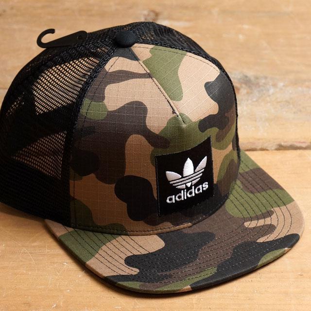 阿迪达斯原始物极限运动卡车司机帽子1 adidas Originals Action Sports人分歧D网丝盖子TRUCKER HAT 1(AZ6108 FW16)