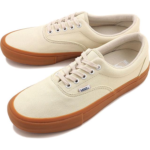 Vans era Pro VANS men's women's sneaker ERA PRO OFF WHITE/GUM (VN000VFBGX4  FW16)