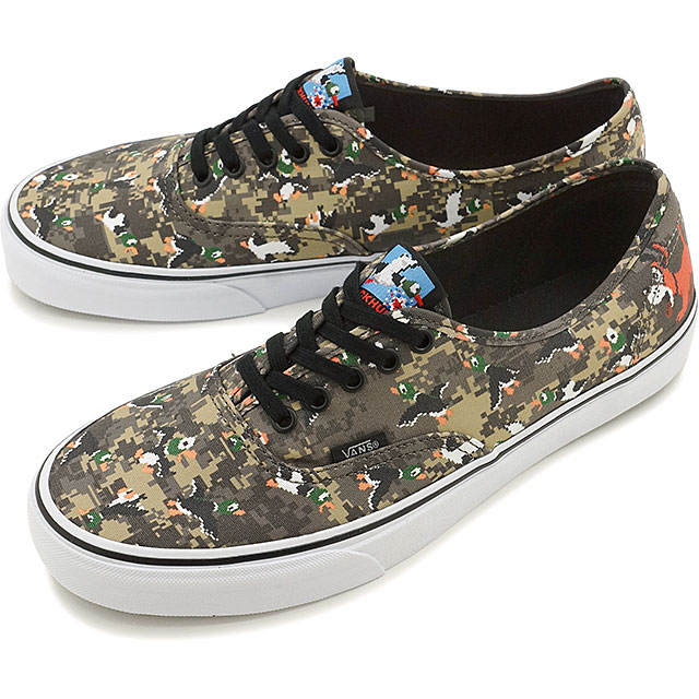 71125bc970 Vans X Nintendo authentic VANS men gap Dis sneakers AUTHENTIC (Nintendo)  DuckHunt camo (VN0004MLJP7 FW16)