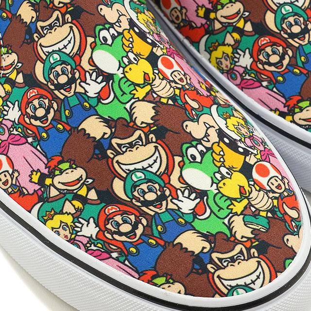 厢式货车 x Nintendo 任天堂经典滑货车男装女装运动鞋滑经典滑 (任天堂) SuperMarioBros/多 (VN0004MPK5A FW16)