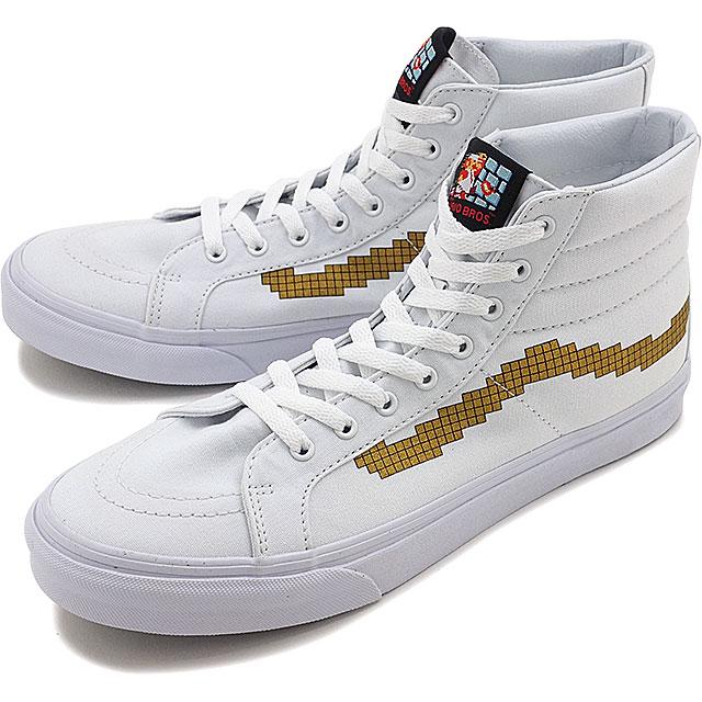 Einkaufen tolle Passform perfekte Qualität Vans x Nintendo Nintendo skating high slim VANS mens Womens sneakers Ske  high SK8-HI SLIM (Nintendo) Console/gold (VN00018IJUZ FW16)