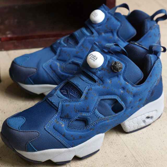 Reebok classic insta pump fury SP Reebok CLASSIC mens ladies sneakers  INSTAPUMP FURY SP NOBLE BLUE/COLLEGIATE NAVY/CLOUD GREY/WHITE (AQ9800 FW16)