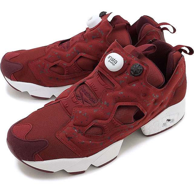 a56441a1ff136e リーボッククラシックインスタポンプフューリー SP Reebok CLASSIC men gap Dis sneakers INSTAPUMP  FURY SP MERLOT DARK RED WHITE (AQ9802 FW16)