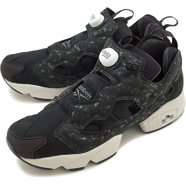 リーボッククラシックインスタポンプフューリー SP Reebok CLASSIC men gap Dis sneakers INSTAPUMP  FURY SP BLACK COAL STEEL WHITE (AQ9803 FW16) 7abc8f5c5