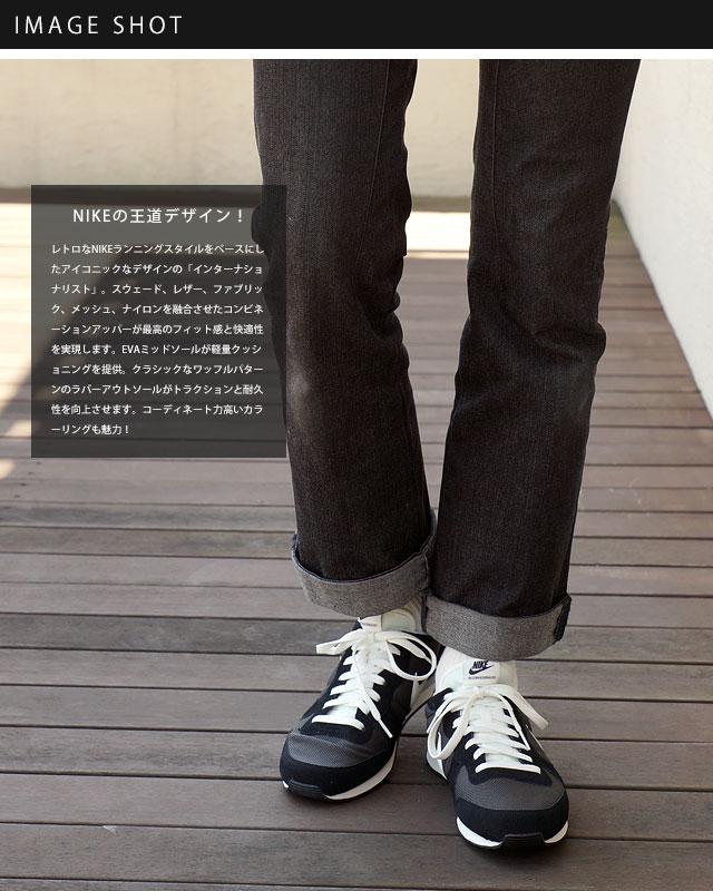 on sale b5949 f7aba Nike internationalist NIKE men s INTERNATIONALIST deep pewter   sail   black    anthracite (q828041 - 201 FW16)