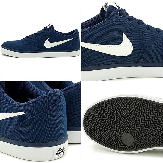 3b0554a700776 Nike SB check solar canvas NIKE men CHECK SOLAR CANVAS midnight navy /  white shoes (843,896-400 FW16)