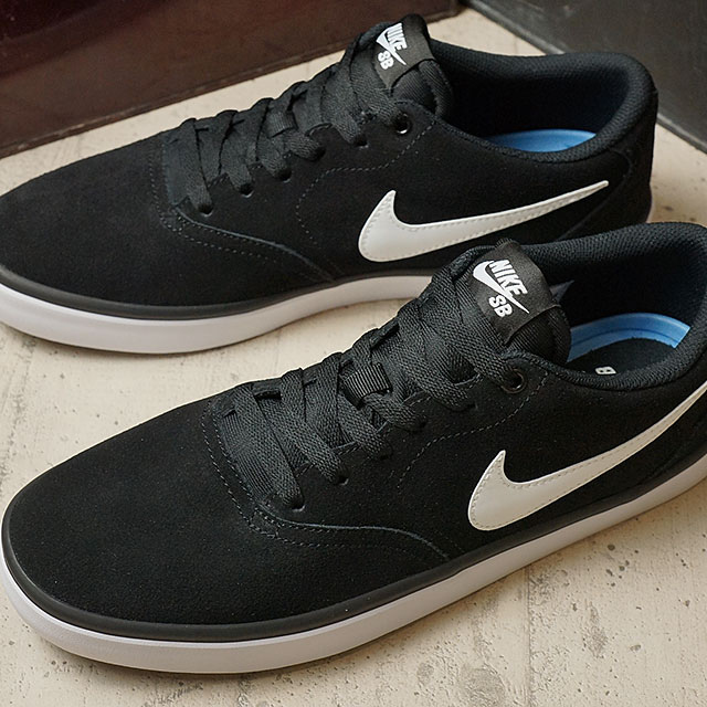 free shipping dfcb2 de6d8 ... Nike SB check solar NIKE Mens CHECK SOLAR black / white (843895-001- ...