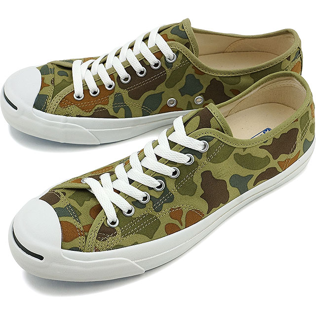 650062ab3675b3 Converse Jack Pursel hunter duck CONVERSE JACK PURCELL HUNTERCAMO khaki  shoes (32262854 FW16)