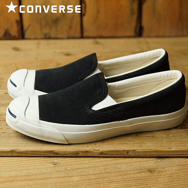 be3c7b6808e2 Converse Jack Pursel slip-ons suede CONVERSE JACK PURCELL SLIP-ON SUEDE  black shoes (32252881 FW16)
