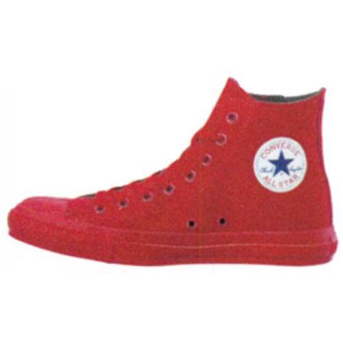 Red High cut Converse | Converse in 2019 | Converse high cut