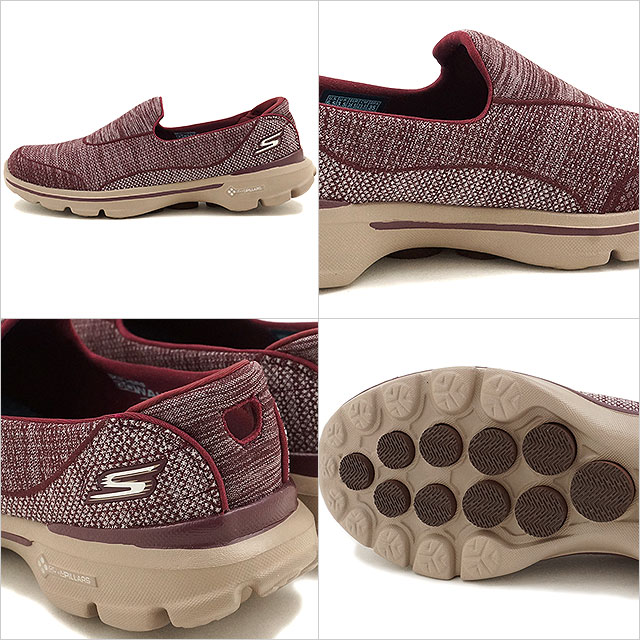 9585c669d965 Skechers shape ups go walk 3 Super sock 3 SKECHERS women sneakers GO Walk 3-Super  Sock 3 BURG (14046 FW16)