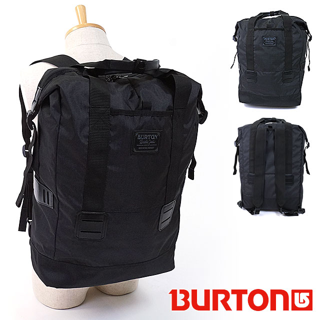Burton Tinder That 3 Way Bags Tote Bag Backpack Daypack 25 L True Black