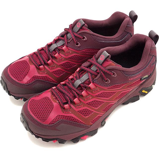 Merrell 摩押 FST 戈爾特斯徒步鞋 MERRELL 摩押 FST 戈爾特斯甜菜紅無線網狀網 (J37158 FW16)